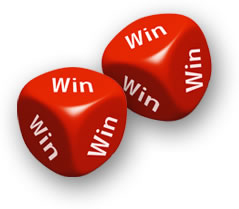 win win dice